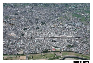 熊谷市空撮写真