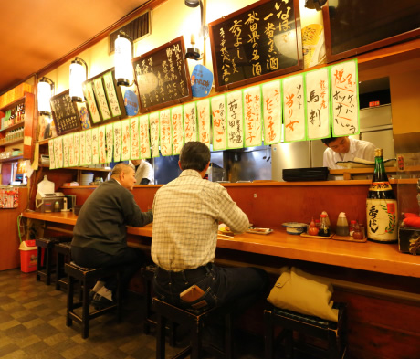 Inside of RESTAURANT AND BAR – INAHO NEAR KUMAGAYA Station