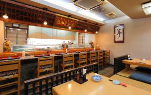 Inside of SAKAE SUSHI