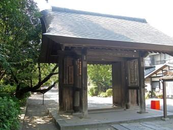 妻沼聖天山中門