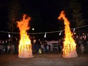 大我井神社火祭り